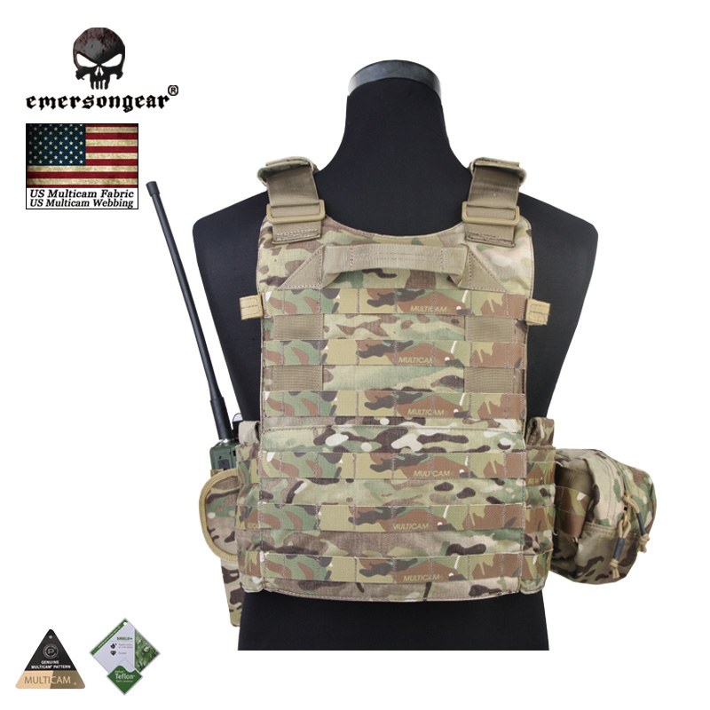 Hunting Vests Fast Deliver Emersongear Lbt6094a Style Tactical Vest With 3 Pouches Hunting Airsoft Military Combat Gear Highlander Em7440l