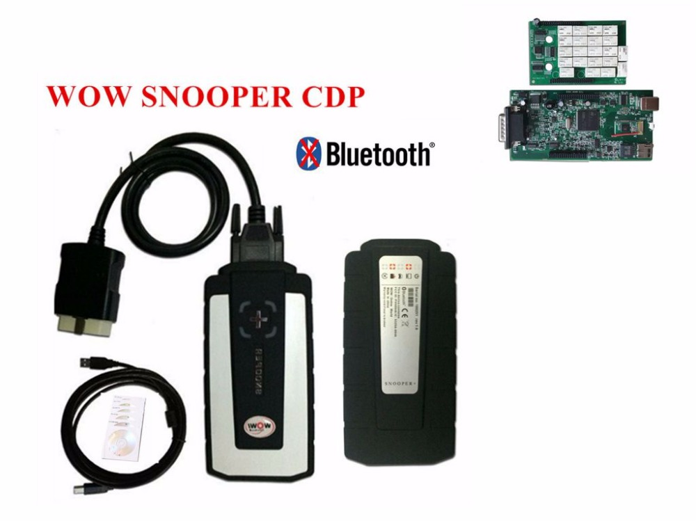 WOW Snooper CDP Real 5 008R2 5 00 12 Keygen With Bluetooth VD TCS CDP Pro