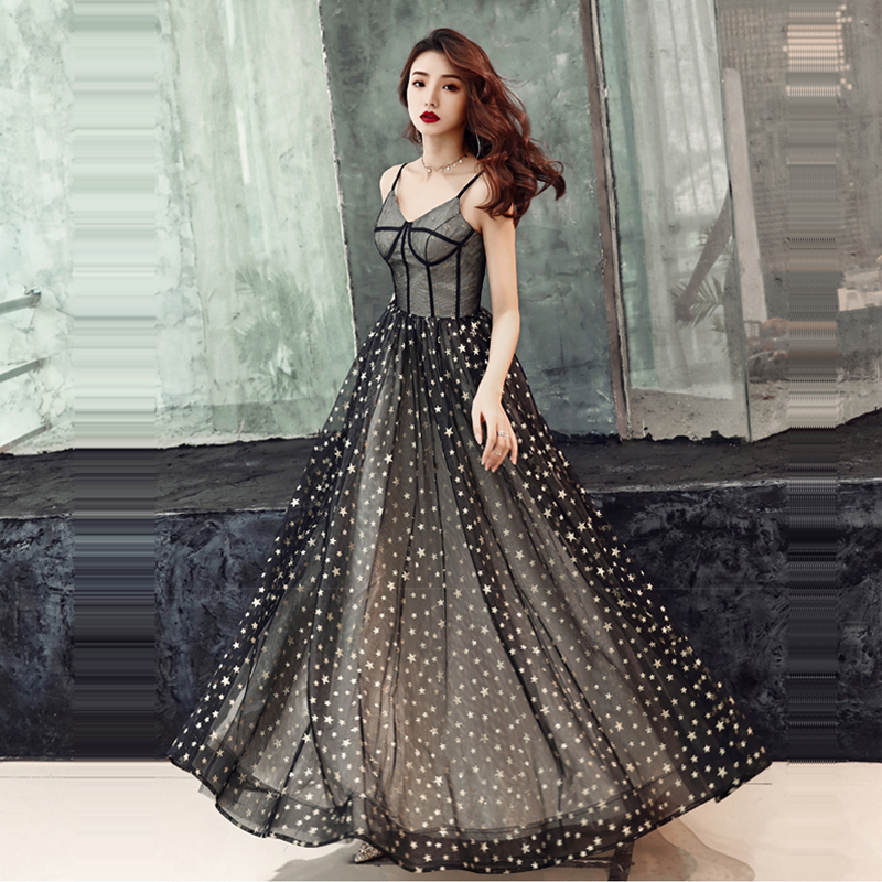 Evening Dress Sling Sleeveless Women Party Dresses Backless Sequin Robe De Soiree 2019 Plus Size Sweetheart Formal Gowns E710