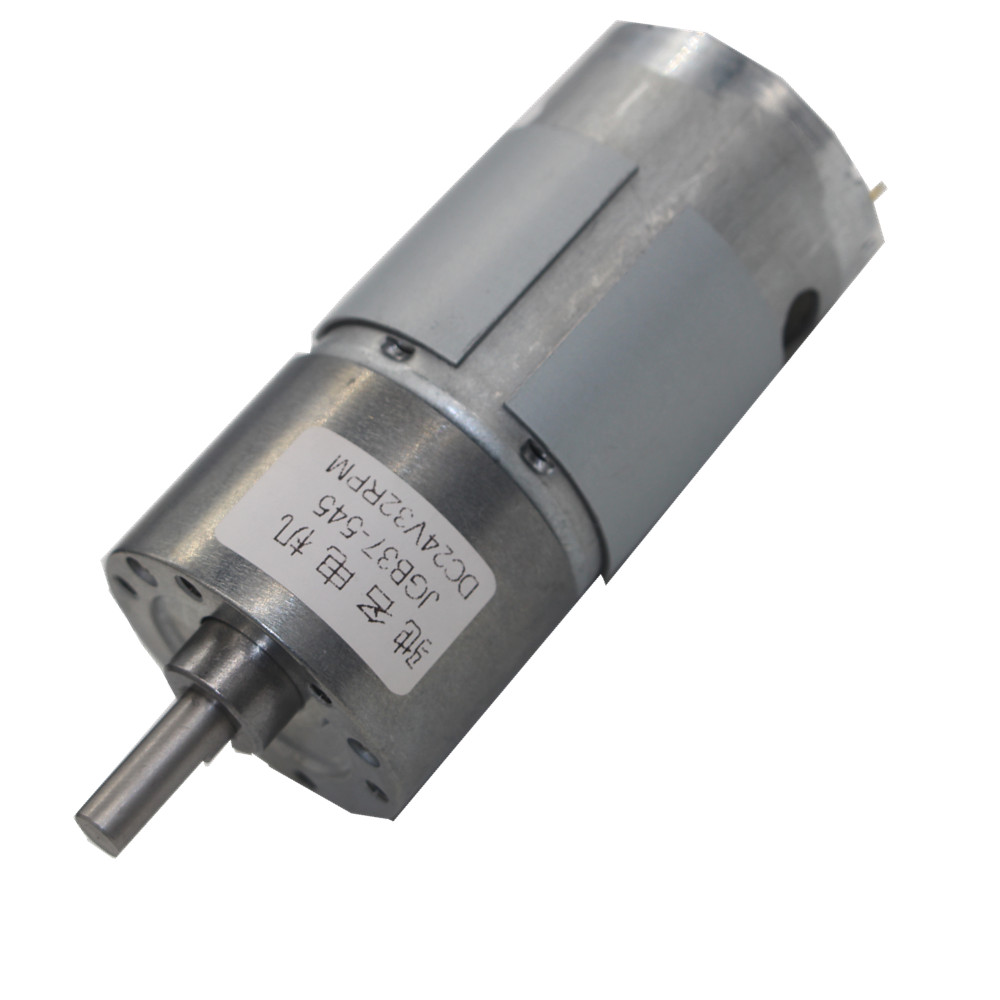 JGB37-545 Deceleration Motor, Smart Car 12V24V Miniature DC Gear Low Speed Motor