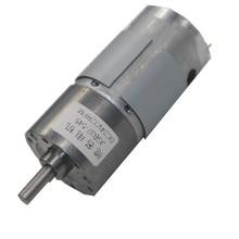 JGB37-545 Deceleration Motor, Smart Car Motor, 12V24V Miniature DC Gear Motor, Low Speed Motor [vk] original 6v hg16 030 aa 00 copal cobb motor speed deceleration ratio 1 30 switch