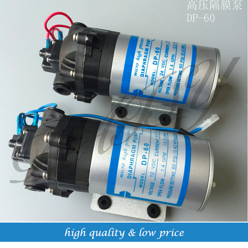 12v/24v Mini Diaphragm Water Pump Boost Water For Marine/RV/Boat's DP-60