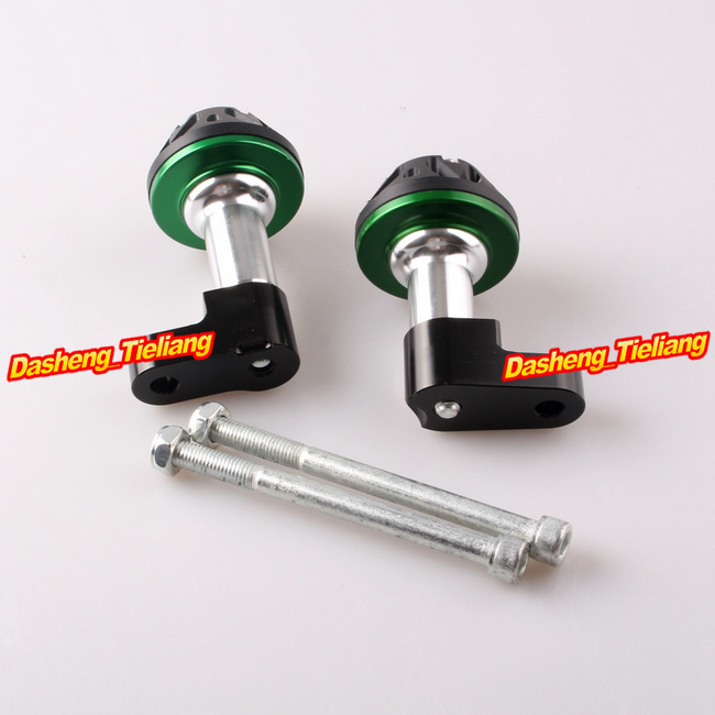CNC Aluminum Alloy Stator Cover Slider Frame Protector Crash For Honda CB1300 2003 2004 2005 2006 2007 2008 Green 1pcs openbuilds slider gantry plate standard 65 65 3mm aluminum alloy cnc special slider plate for 3d printer