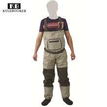New Fly Fishing Stocking Foot Chest Waders Affordable Breathable Waterproof Chest Wader KB002