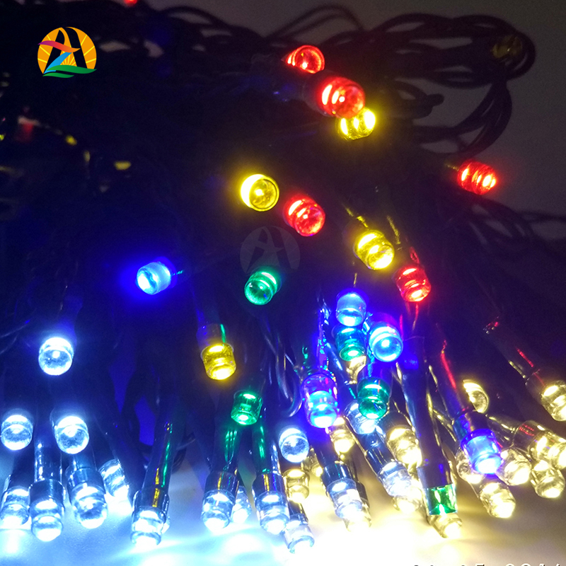 Lovely Solar 12M 100 LED String Lights Decoration For Christmas Tree Party Outdoor  Garden Wholesale Outdoor Garden