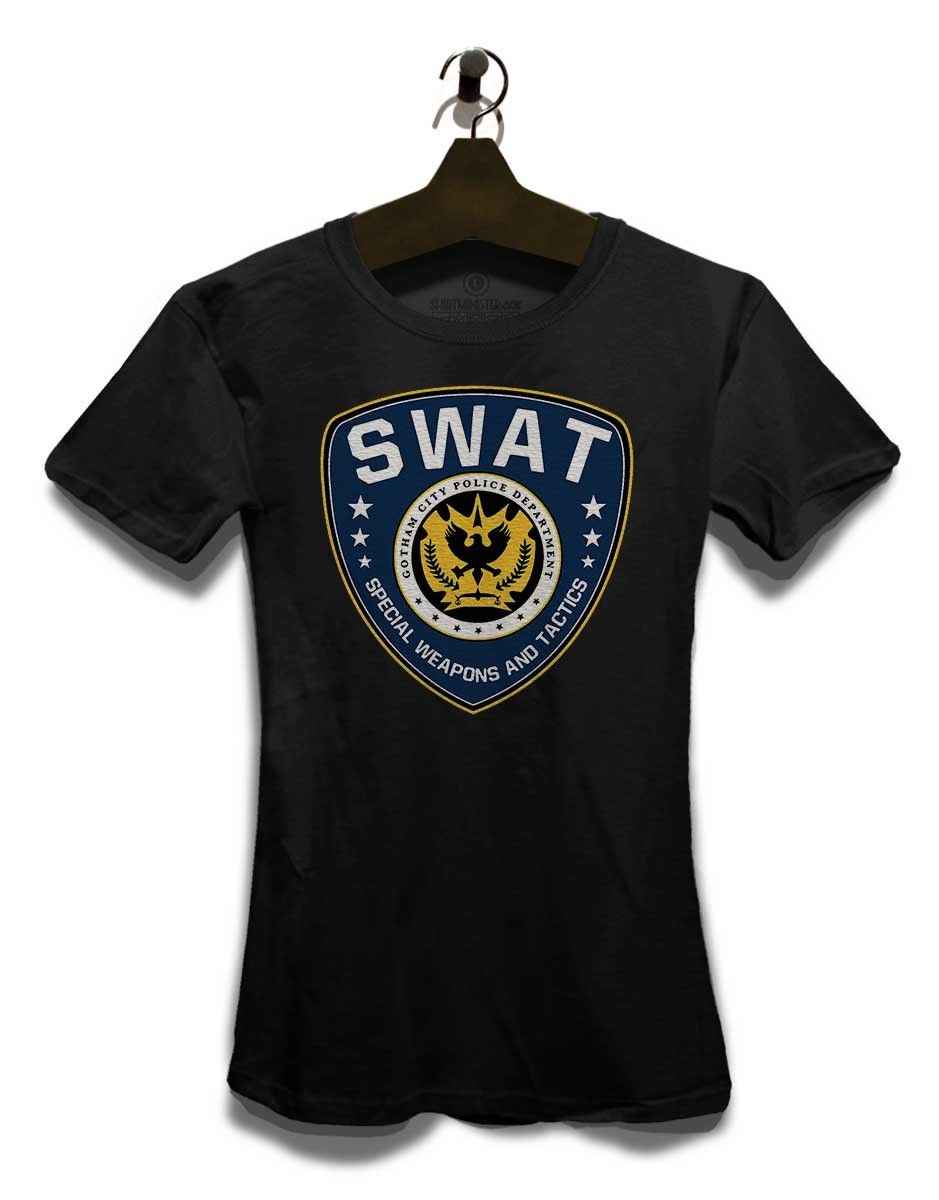 Футболка Gotham Swat Damen, летучая мышь, GCPD, Джокер, человек, Куинн, комиксы, harajuku, хип-хоп, футболка, повседневные короткие Забавные футболки