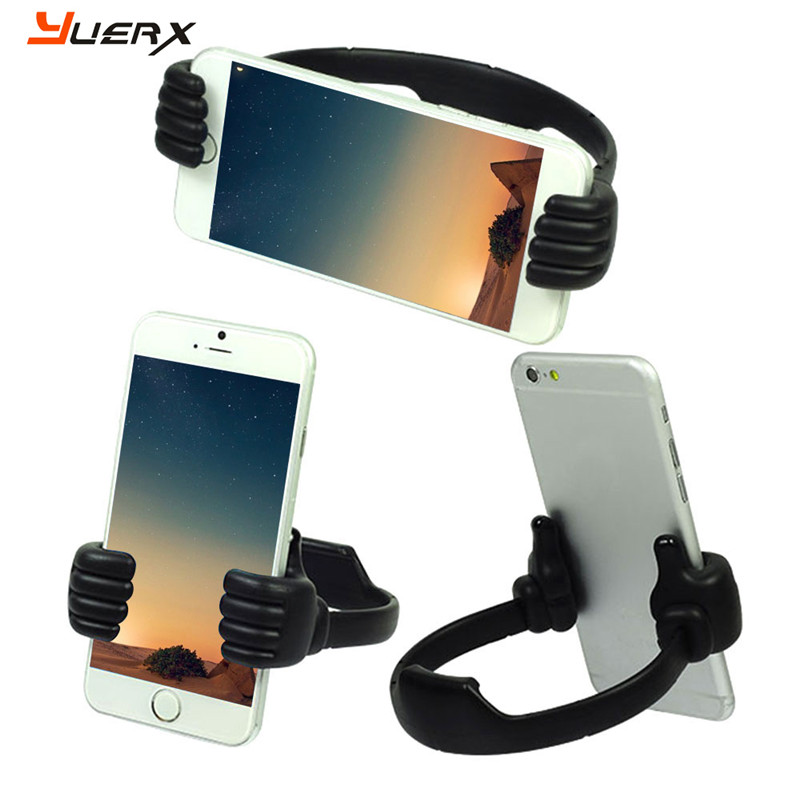 Lazy Mobile Phone Holder Bed Thumb Cell Smartphone Tablet