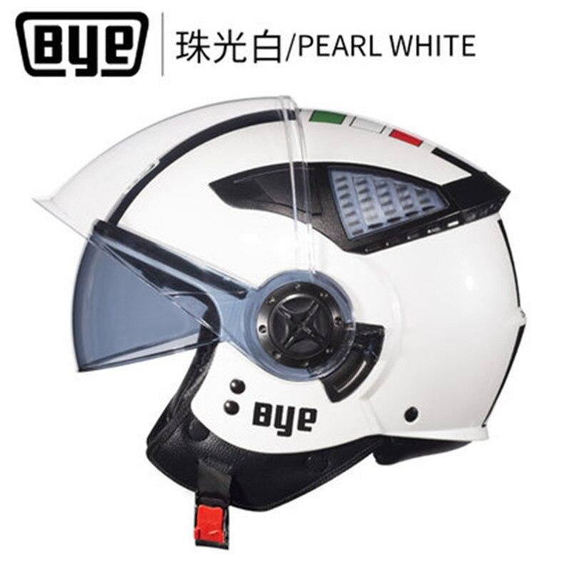 BYE motorcycle helmet  vintage open face vismotorbike motocross jet retro capacete vespa moto