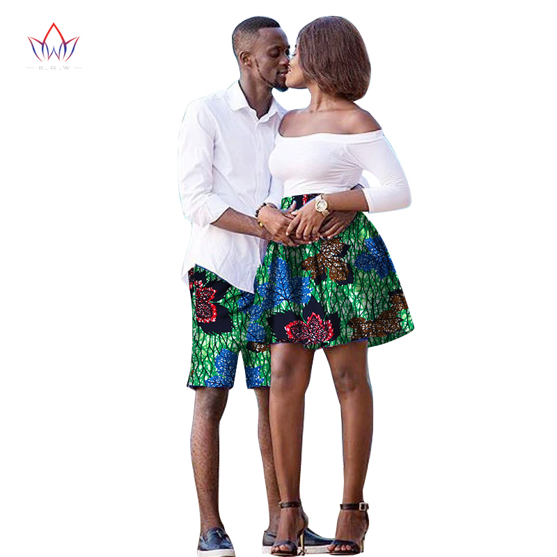 9bd934eab3363 The New listing Lovers 2019 Women skirt Men shorts African Clothing ...
