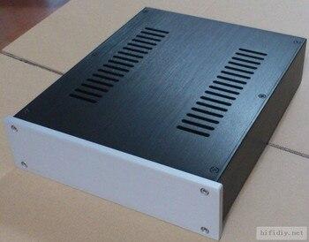 new Full Aluminum DAC preamp headphone Enclosure Case DIY 2607KB