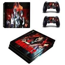 Resident Evil Remake 2 PS4 Pro Skin Sticker Vinyl Decal