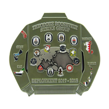 Best selling zinc alloy metal coin badge for the United States as a promotional gift