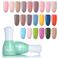Фотография NICOLE DIARY Nude Series Soak Off UV Gel Varnish Base Coat Top Coat Gel Candy Color Color Coat Manicure Nail Art UV Polish