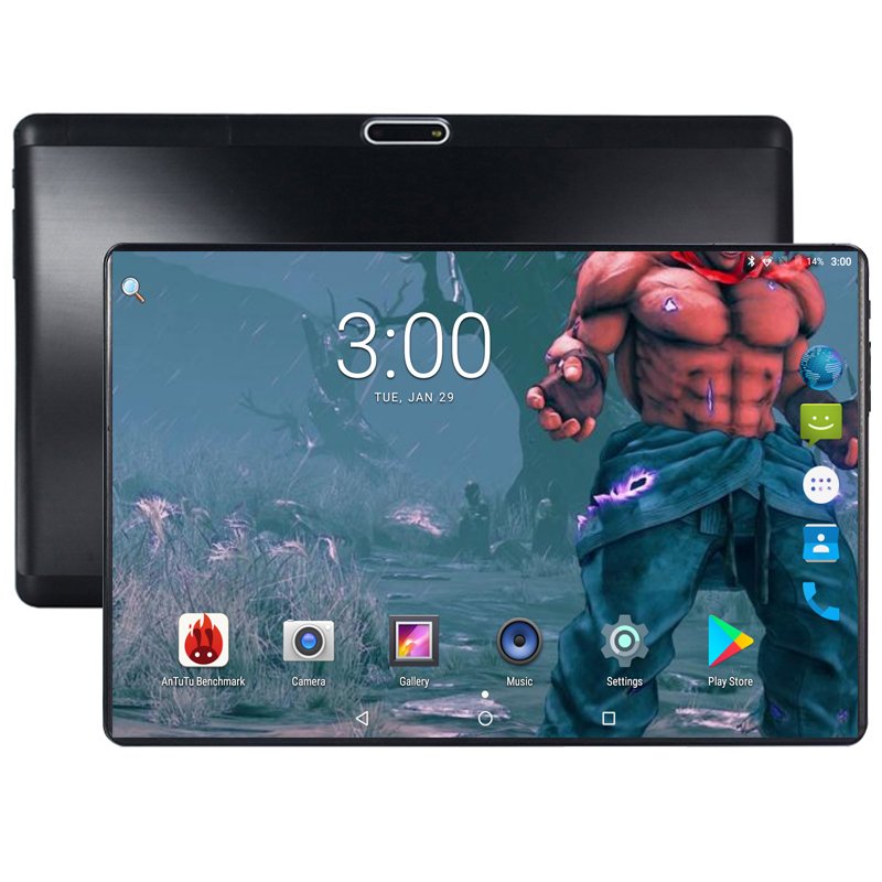 10 Inch Tablet Pc 3g 4g Fdd Lte Octa-core 4 Gb Ram 64 Gb Rom Dual Sim 5.0mp Android 8.0 Gps 1280x800 Hd Ips Tablet Pc 10""