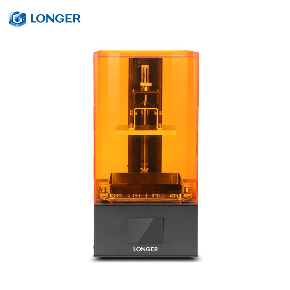 Plus Orange 10 LCD 3D Imprimante Longer3d SLA 3D Imprimante Intelligente Soutien Rapide Tranchage UV Lumière-Durcissement UV Résine impresora 3d Drucker