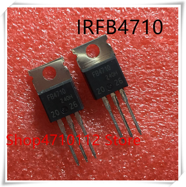 NEW 10PCS/LOT IRFB4710 FB4710 TO-220 IC