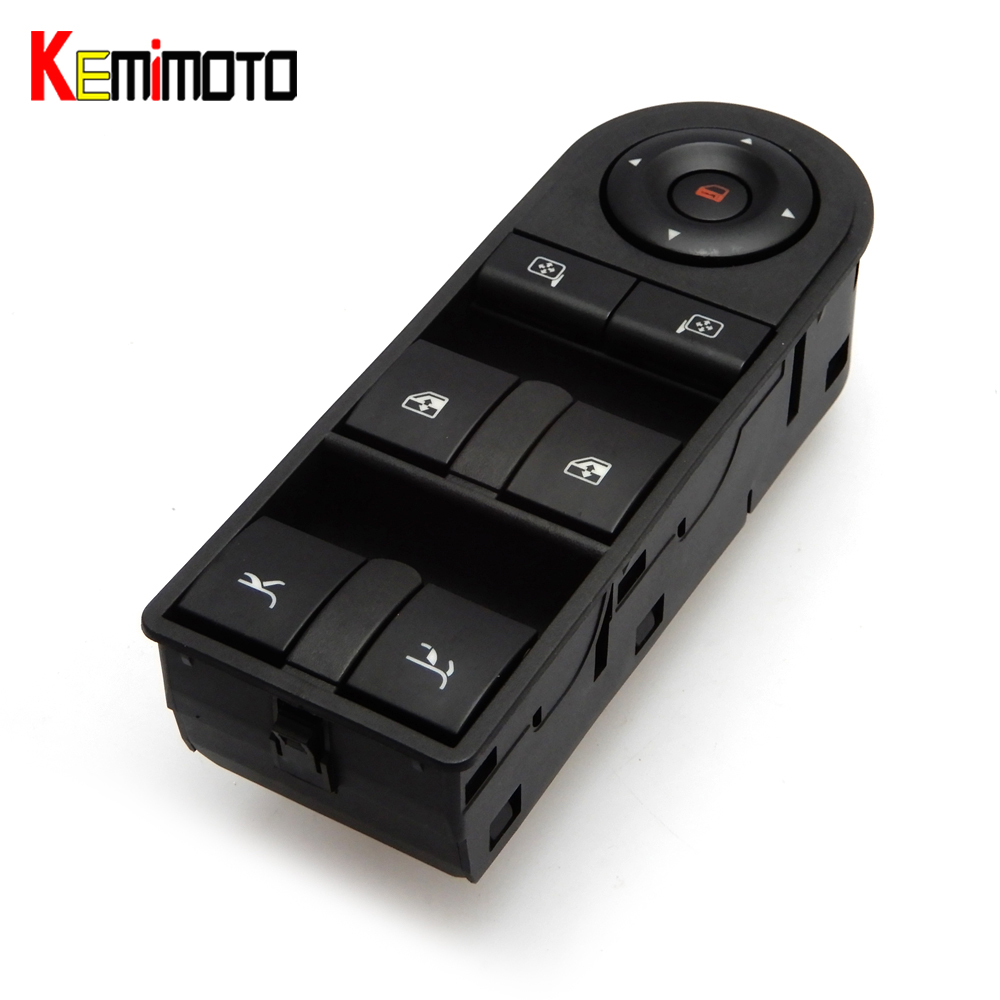 KEMiMOTO Power Window Switch for vauxhall for Opel Tigra Twintop 2004-2016 93162636