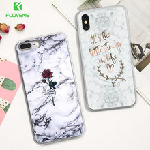FLOVEME Silicon Case For Huawei P20 Lite P10 P9 Lite P10 Plus Ultra Thin Soft TPU Marble Case For Huawei Honor 9 8 Lite Cover(China)