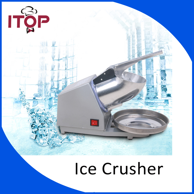 Electric Ice Crusher Ice Shaver Commercial DIY Ice Cream Maker for Coffee Shop Hotel electric ice block shaver for bar and restaurant