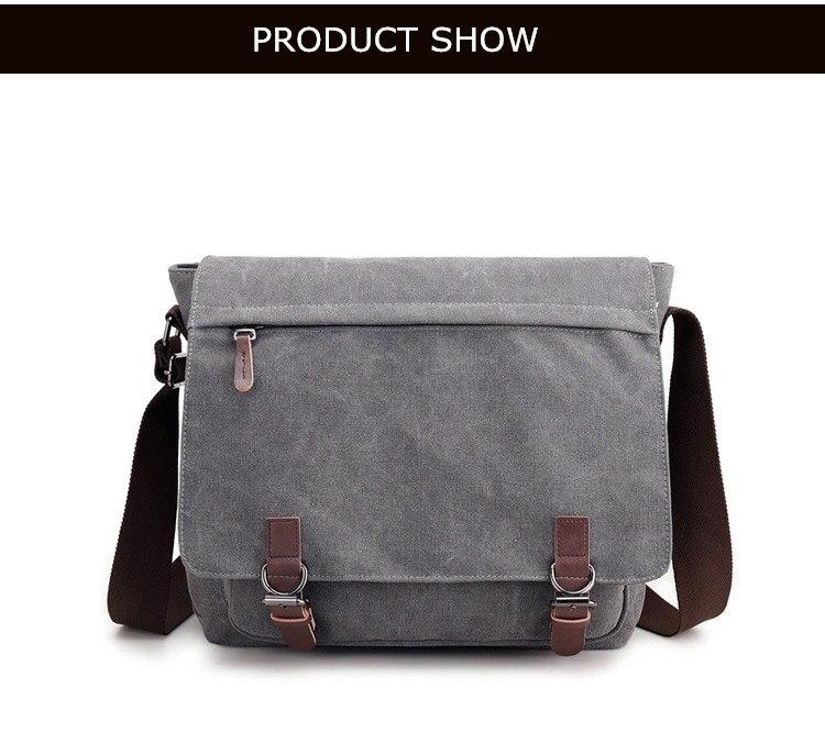 Micom Canvas Men Messenger Bags Vintage Shoulder Belt Bag Large Capacity Business Travel Bag Men\`s Canvas Crossbody Handbag New (16)