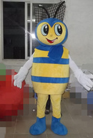 queen bee mascot costumes party birthday gift Halloween party Fancy Dress school team sport Adult Size hot sale