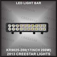 4pcs Lot Promotion 17 200w 2 Row 10W LED Light Bar Offroad Factory Directly Sale 1year