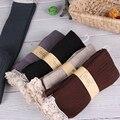 Lleno de Algodón Hasta La Rodilla Calcetines Altos para Las Mujeres Del Cordón de Arranque Calcetines de Las Mujeres Con Volantes de Encaje de Algodón