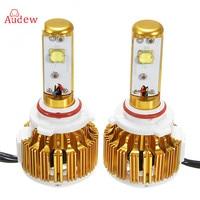 2pcs Waterproof LED Car Headlight H4 H7 55W Light Bulb H11 9005 9006 Replace LED Automobile