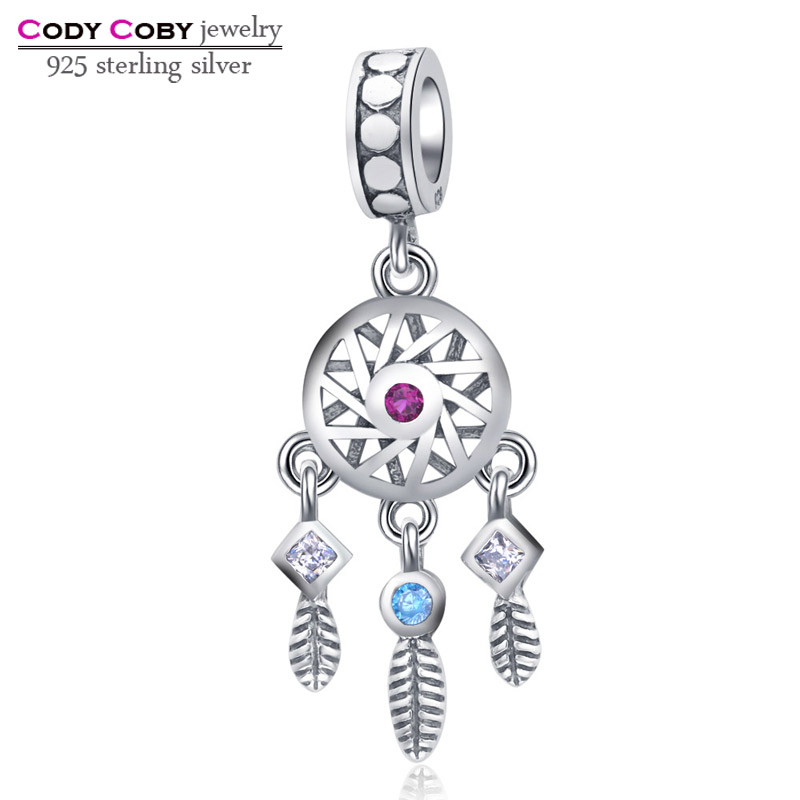 100% 925 Sterling Silver Charm Beads Fit Pandora Bracelet Prata 925 Original Fashion Charm Pendant DIY Jewelry Making For Women