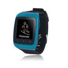 Oneisall Generisches Smartwatch Smart Bluetooth Uhr Sync anti-verloren für Handy Smartphone Schwarz Rot Weiß Blau