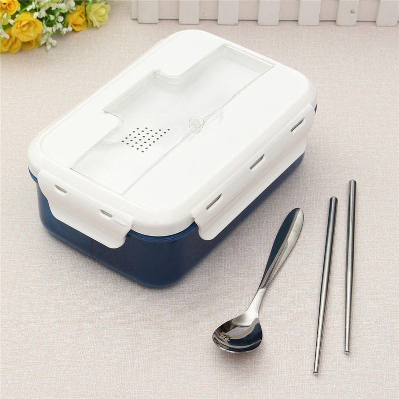 1000ml modern ecofriendly outdoor office portable microwave lunch box with soup bowl chopsticks spoon food containers china eco friendly modern office