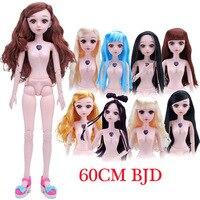 TAORISFUN 60cm Large Peluca Rapunzel Wig Bjd Dolls Peruca rapunzel large fashion dolls Boneca BJD Doll Princess toy for girls