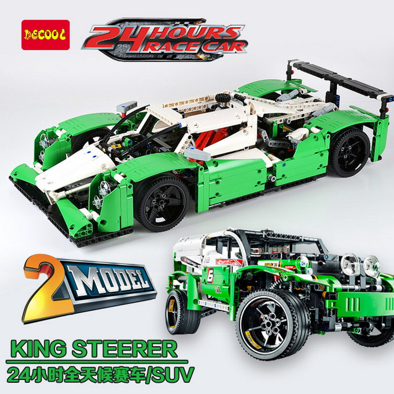 20003 LEPIN Technic City Series 24 Hours Race Car Building Blocks Enlighten Figure Toys For Children Compatible Legoe 42039 2017 enlighten city series garbage truck car building block sets bricks toys gift for children compatible with lepin