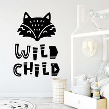Creative wild child Removable Pvc Wall Stickers Removable Wall Sticker Art Decals стоимость