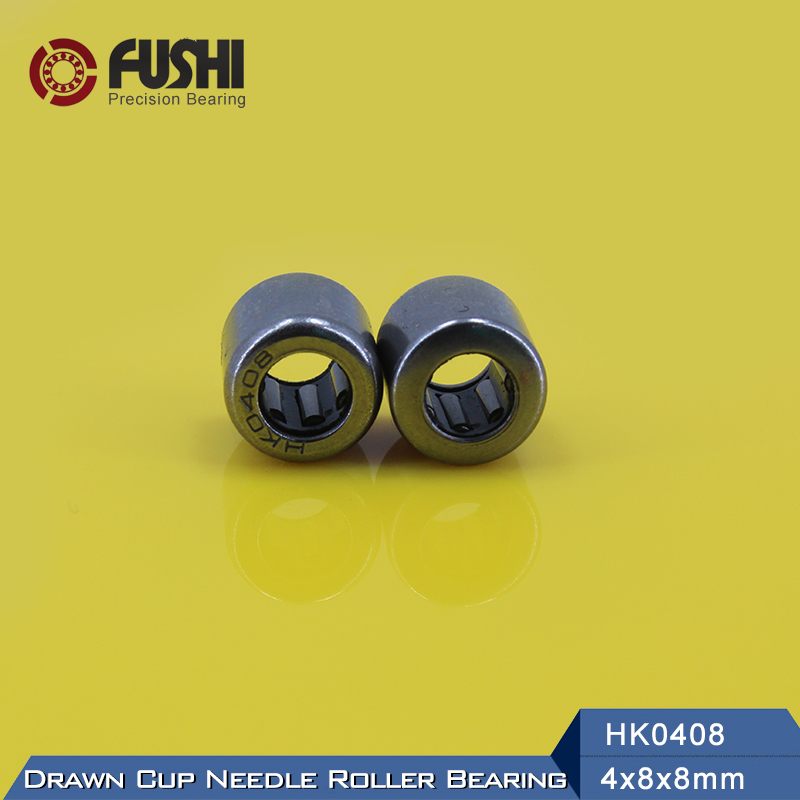 Needle Bearings HK0408 HK0509 HK0607 HK0608 HK0609 HK0709 ( 10 Pcs ) Drawn Cup Needle Roller Bearing violet 0408