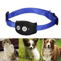 Tiempo Real DEL GPS GSM Tracker Sistema de MASCOTAS Para Gatos Perros APLICACIÓN GRATUITA para Perro Gato Mascotas Perseguidor Móvil TK208 Anti Perdió Buscador Inteligente