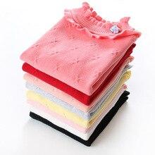 Новинка года; свитера для девочек; сезон осень-зима модная детская одежда из хлопка; Детские хлопковые свитера для детей 2-3 лет