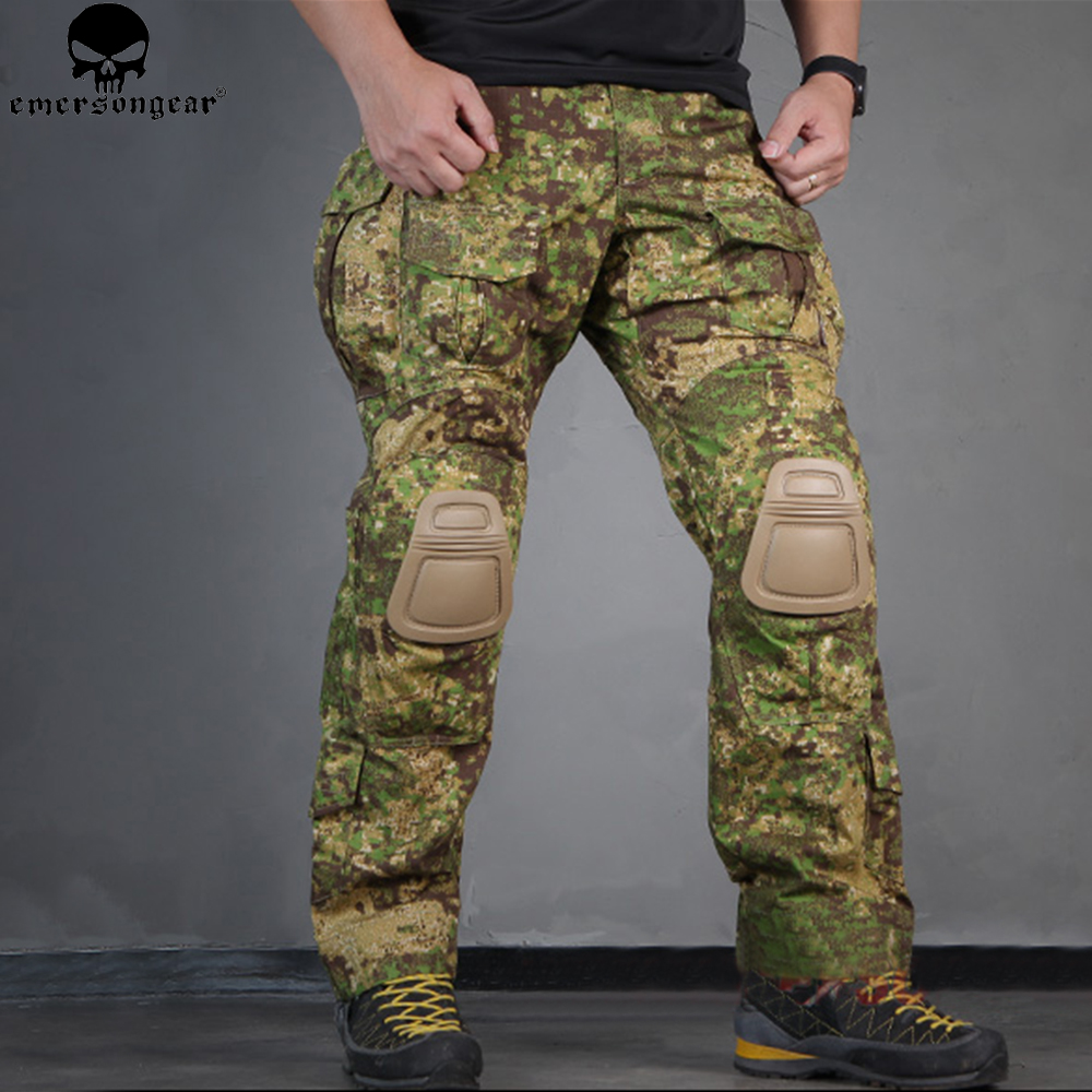 EMERSON Gen 3 Tactical Pants with Knee Pads Hunting Combat Uniform EMERSONGEAR Pants Greenzone EM7039