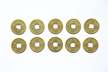 20PCS 24mm Traditional Chinese Ancient Feng Shui Lucky Coin Good Fortune Dragon Wealth Money For Collection Gift