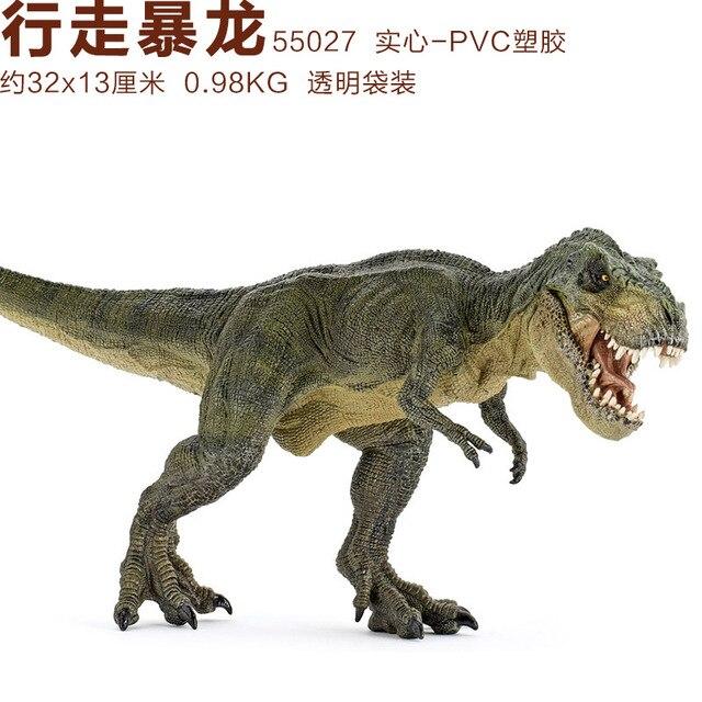 Aliexpress.com: Comprar Papo verde Correr t rex dinosaurio Museo ...