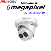 HiSecu New Released H 265 5MP Network Turret IP Camera DS 2CD2355FWD I English Version Security