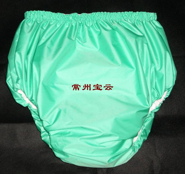 Free Shipping FUUBUU2034-GREEN-M Adult Diaper/ Incontinence Pants/Adult Baby