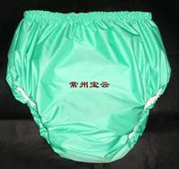 Free Shipping FUUBUU2034 GREEN M Adult Diaper Incontinence Pants Adult Baby