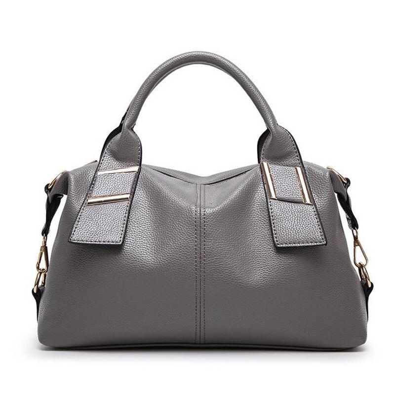 ФОТО New 2016 Fashion Women Shoulder Bag Female PU Leather Casual Shoulder Bag Brand Designer Handbag High Quality ladies Bag