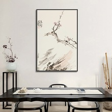 Chinese Style Painting New Decor Plum Canvas Modern Wall Art Pictures for Bedroom Home Decoration Posters and Print