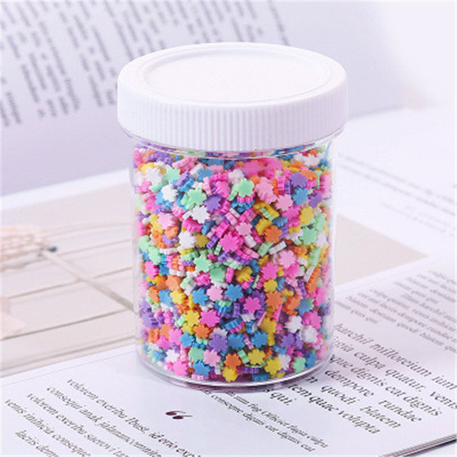 100g Clay Modeling Filler Sprinkles For Slime Charm DIY Supplies Candy Cake Dessert Polymer Mud Popular Kids Toys AccessoriesLearning & Education
