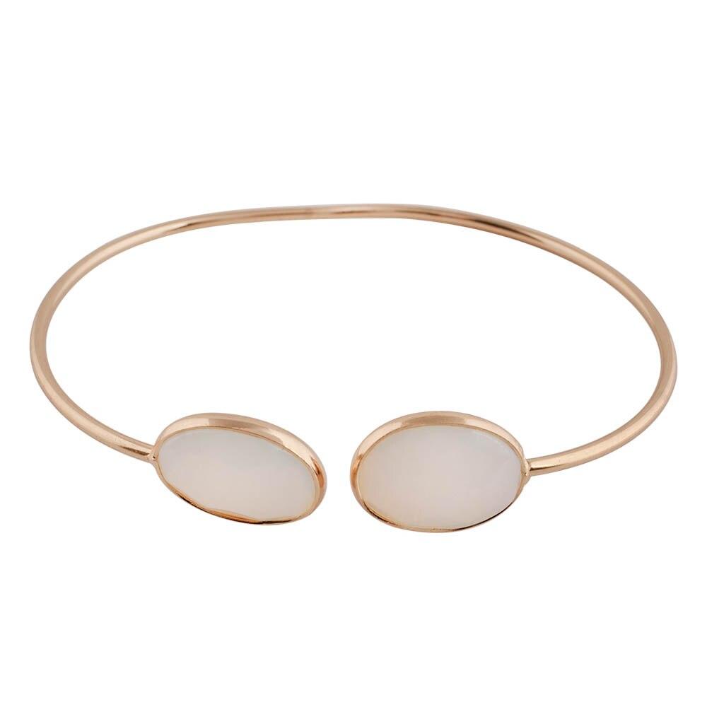Partnerbeads Trendy Classic Bangles&Bracelets New Arrival Women Crystal Stone Wrist Bracelet Gold Color Female Bangle TA7019