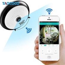 Панорамная ip-камера TAOCOCO WiFi 360 степени камеры «рыбий глаз» наблюдения 960 P камера видеонаблюдения беспроводная камера ночного видения