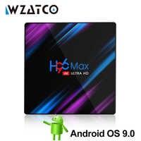 H96 Max-3318 Android TV Box 9.0 4GB 64GB Quad-Core 64bit 1080P H.265 4K Google Play Store Netflix Youtube Smart TV box médias