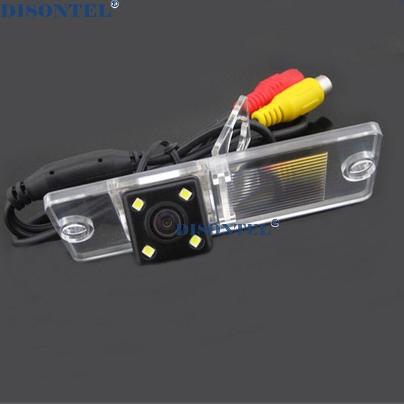 Проволочная Беспроводная Автомобильная камера заднего вида для парковки широкий anlge для sony ccd Mitsubishi Pajero ZINGER/V3/V93/V6/V8/97 - Название цвета: wire ccd LED